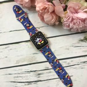 Accessories - Mickey Mouse Silicone Apple Watch Band